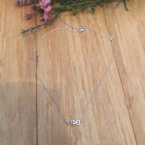 Gamma Phi Beta letter necklace NWOT